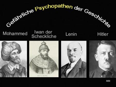 Psychopathen der Geschichte