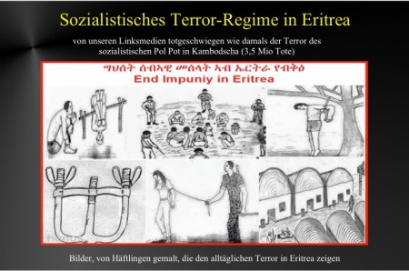 Sozialist Terrorregime Eritrea