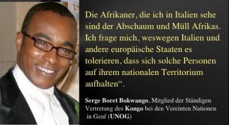 Afrikaner spricht Tacheles