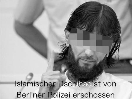 Dschihadist von Berliner Polizei erschossen