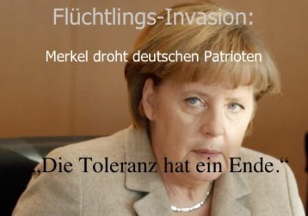 Merkel droht Deutschen