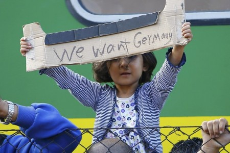 Refugees we want to Germany