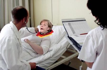 Merkel Dachschaden