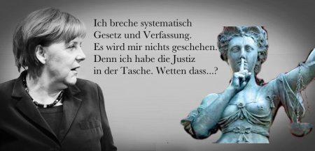 Merkel Gesetzesbrecherin
