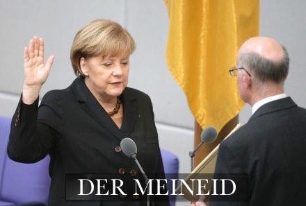 Merkel Meineid