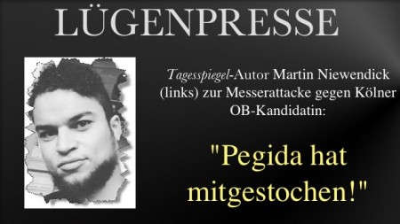 Pegida hat mitgestochen