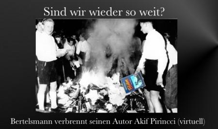 Pirincci+Bertelsmann