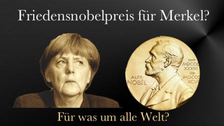 rkel Friedensnobelpreis