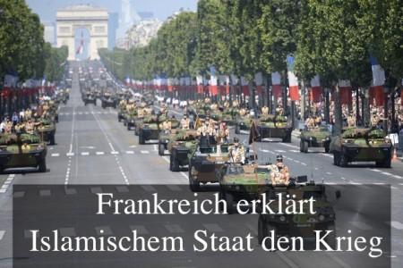 Frankrecih Krieg gegen IS