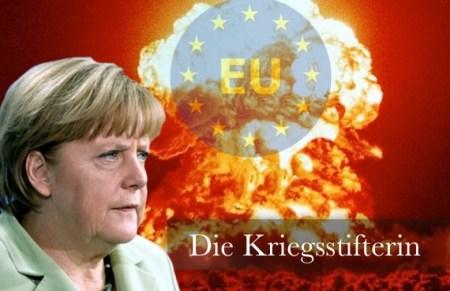 Merkel Kriegsstifterin
