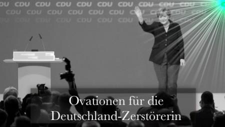 Merkel Ovationen