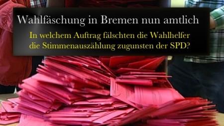 Wahlfaelschung Bremen