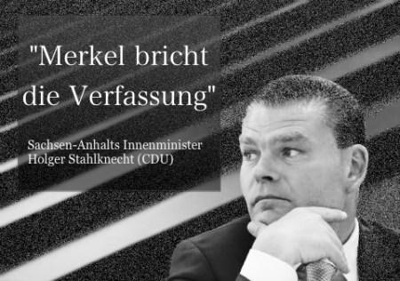 Merkel Verfassungsbruch