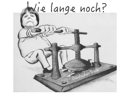 Merkel gg das deutsche Volkk