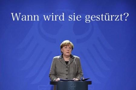 Merkels Sturz