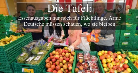 Tafel nicht mehr fue Deutsche