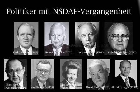 Politiker mit NSDAP-Vergangenheit