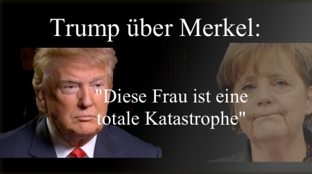 Trump zu Merkel