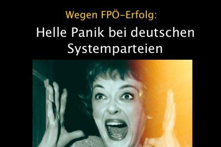 Panik bei dt Systemparteien