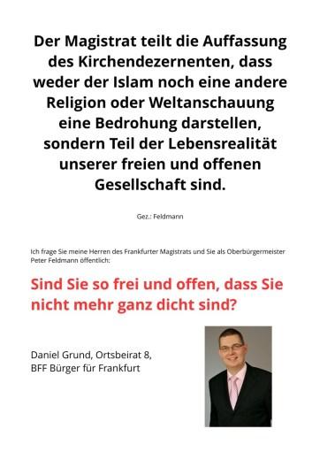 Islamaussage-Frankfurter Magistrat