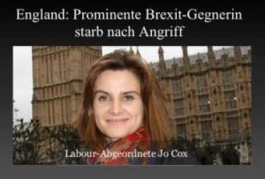 Labour-Abgeordnete Jo Cox