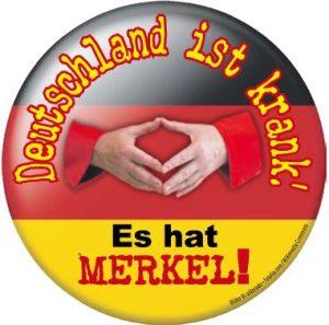 Merkel Aufkleber