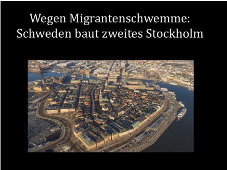 Schweden zweites Stockholm