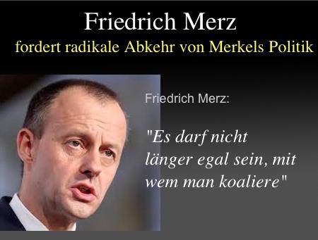 """""""Eine tiefe Zäsur"""": Friedrich Merz fordert radikale Abkehr von Merkels Politik"""