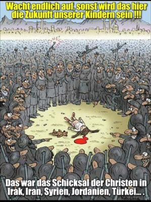 Christenfreie Zone: Das ist die Zukunft Europas, wenn es uns nicht gelingt, uns vom Islam zu befreien