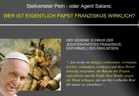 Jesuiten fungierten als Artilleriekommandeure Der geheime Schwur der Jesuiten-Papstes