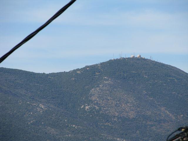 Гора Мерон и Северный командный пункт Армии обороны Израиля