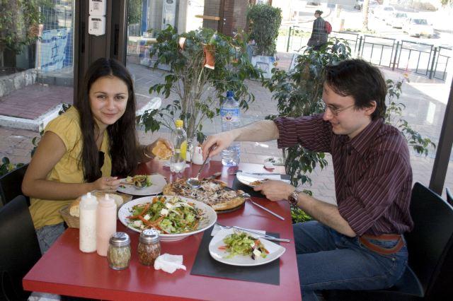 Обед в Тверии