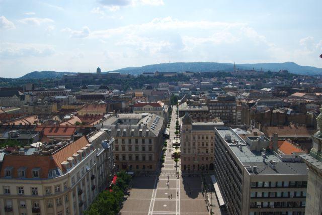 Вид на город с купола базилики Св. Иштвана