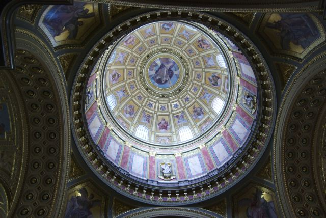 Базилика Св. Иштвана, центральный купол