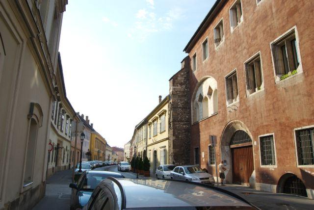 Улица в Будайской крепости