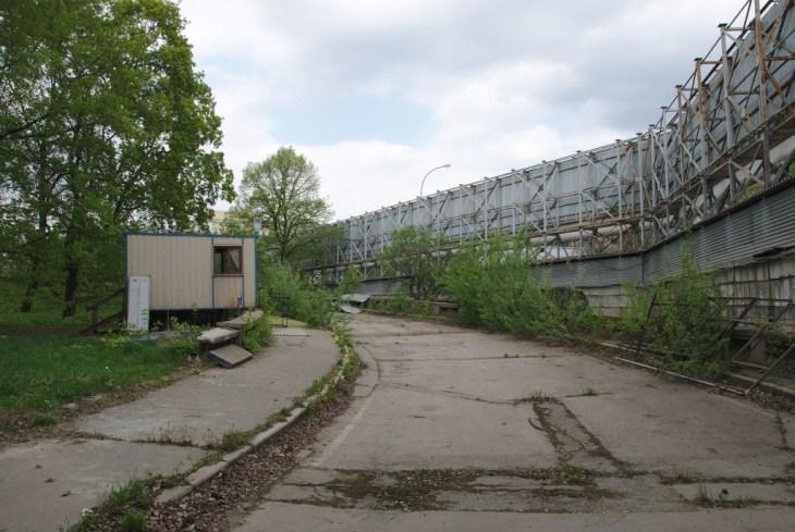 Площадка на месте гостинницы «Россия»