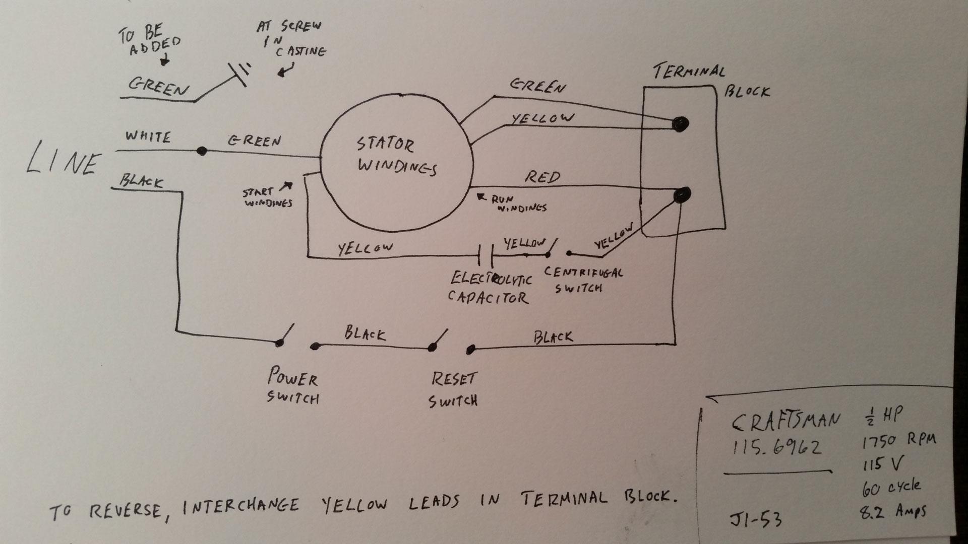 Sears Motor Wiring Diagram | Wiring Diagram on