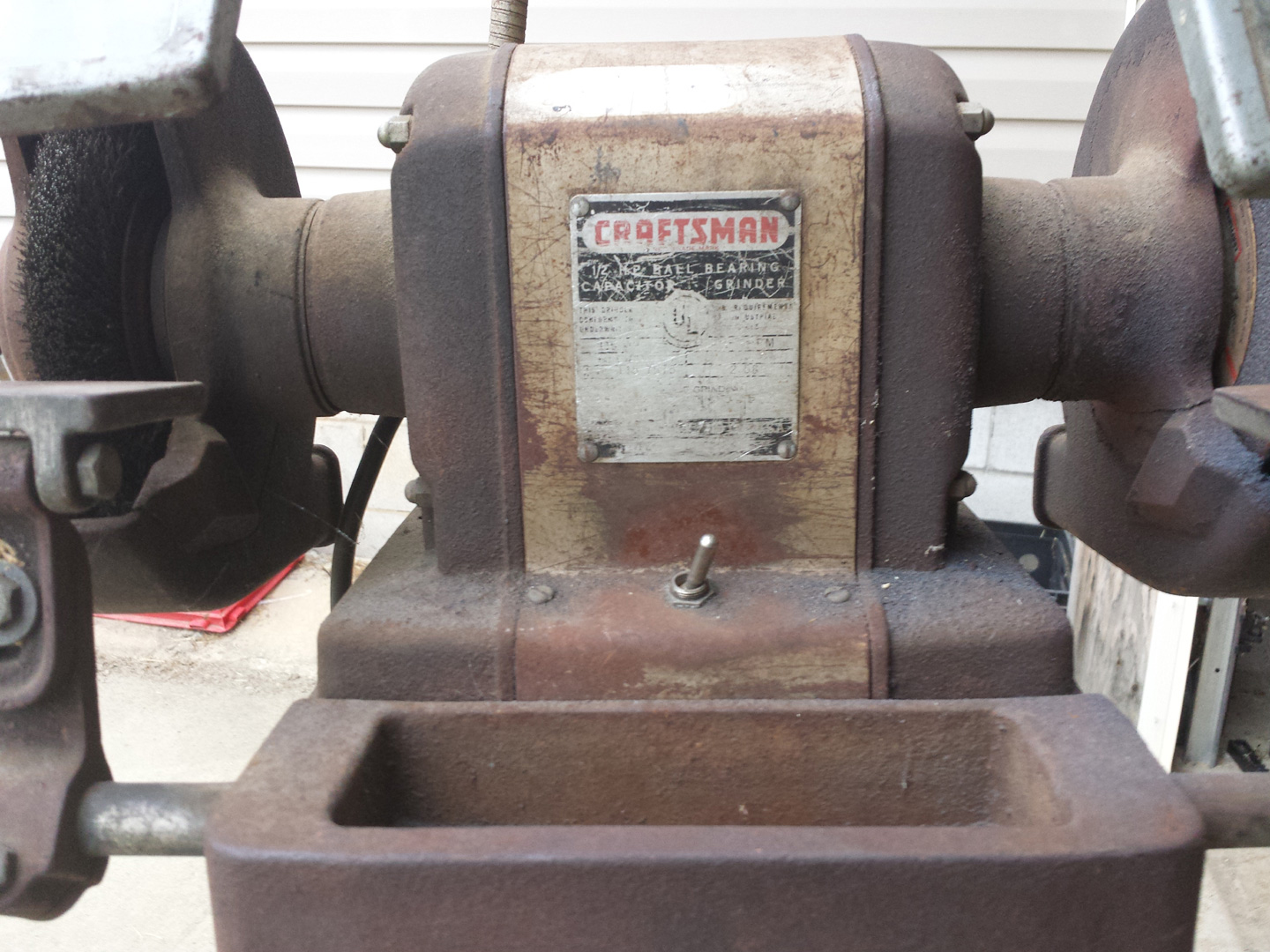 Greatest Craftsman 115.7575 Pre-Block Grinder Restoration [Part 1  TZ86
