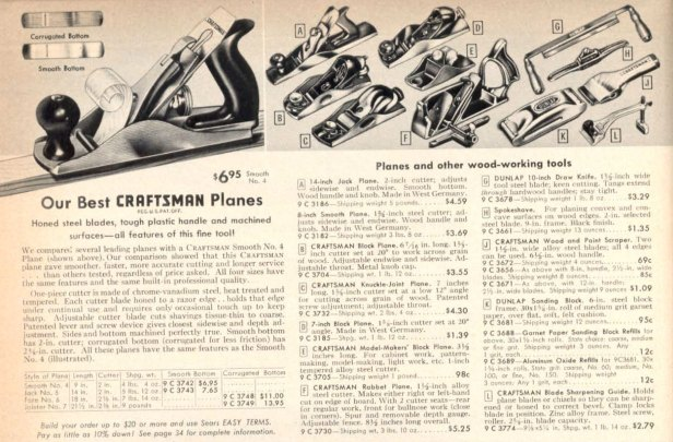 The no. 3732 plane was still listed in the 1957 Sears catalog.