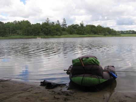 Kalandsgarde mit dem Belly Boat