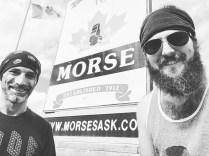 Morse coders in Canada.