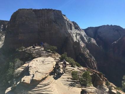Angel's Landing in Zion.