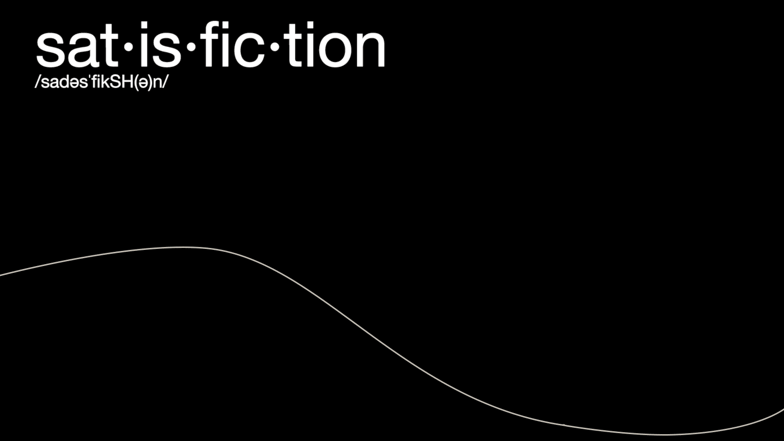Read more about the article Satisfiction