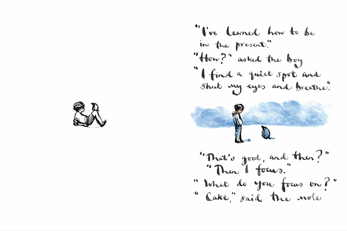 Page from Charlie Mackesy's The Boy, the Mole, the Fox and the Horse