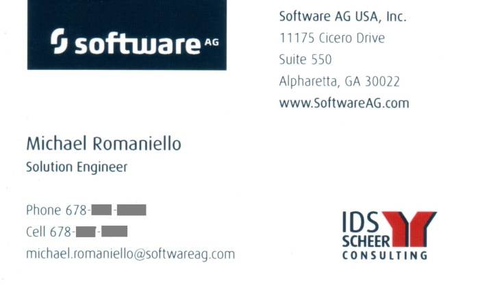IDS Scheer, Software AG, Consultant