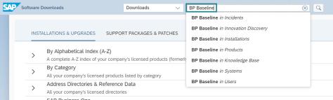 Search 'BP Baseline'