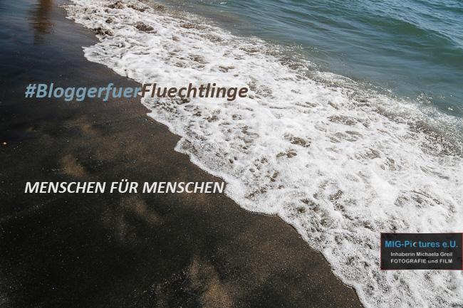 """BloggerInnen für Flüchtlinge – Menschen für Menschen. (m)ein Beitrag: """"Flucht.Perspektiven"""""""