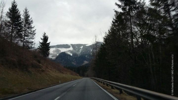 A3/Fotostrecke: Nahe der Schneegrenze – Ennstal, Reichraming, Großraming, Weyer/OÖ, 7.3.2017 – #SmartphoneFotografie