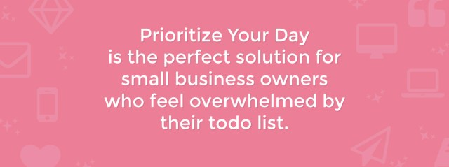 Prioritize Your Day Mini-Course | michaelahoffman.com