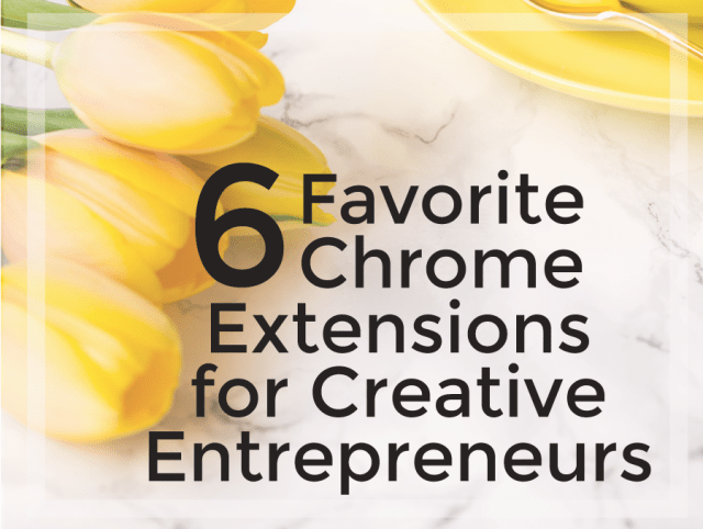 6 Favorite Chrome Extensions for Creative Entreprenuers | michaealahoffman.com